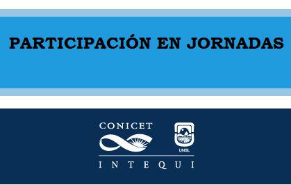 PARTICIPACION EN JORNADAS